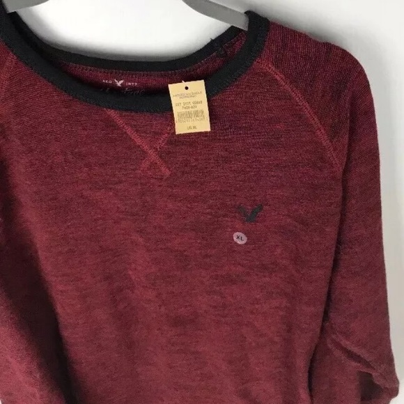 5cbdb964 American Eagle Outfitters Sweaters | Thermal Henley Shirt Xl | Poshmark